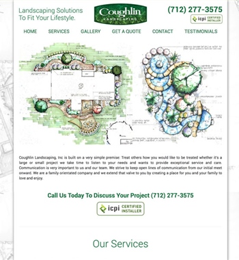 Coughlin Landscaping Inc